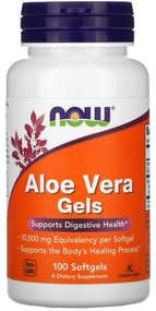 Now Foods Aloe Vera Gels - 100 Softgels Buy online in Pakistan on Saloni.pk