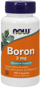 Now Foods Boron 3mg - 100 Capsules Buy online in Pakistan on Saloni.pk