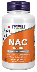 Now Foods NAC 600mg - 100 Capsules Buy online in Pakistan on Saloni.pk