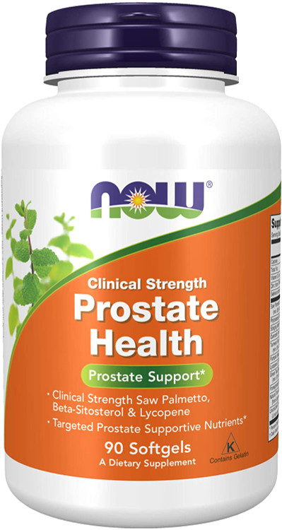 Now Foods Clinical Strength Prostate Health - 90 Softgels Buy online in Pakistan on Saloni.pk