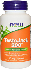 Now Foods Testo Jack 200TM - 60 Veg Capsules Buy online in Pakistan on Saloni.pk