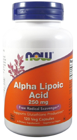 Now Foods Alpha Lipoic Acid 250mg - 120 Veg Capsules Buy online in Pakistan on Saloni.pk