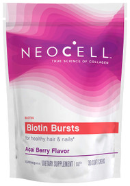 NeoCell Biotin Bursts, Supports Healthy Hair & Nails - 30 Chews buy online in pakistan