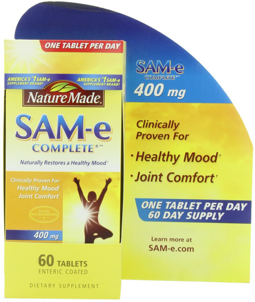 Nature Made SAM-e Complete 400 mg - 60 Tablets buy online in pakistan