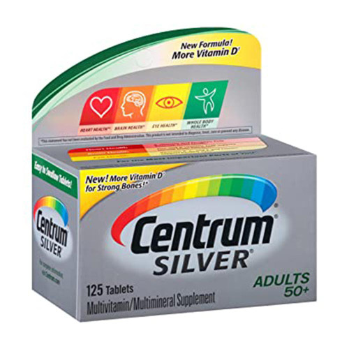 Centrum Silver Complete Multivitamin Adults 50+ , 125 Tablets buy online in pakistan