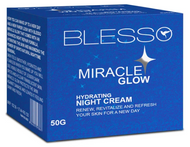 Blesso Miracle Glow Hydrating Night Cream 50g Buy online in Pakistan on Saloni.pk
