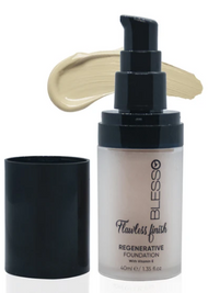 Blesso Flawless Finish Regenerative Foundation with Vitamin E - 02 Buy online in Pakistan on Saloni.pk