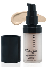 Blesso Flawless Finish Regenerative Foundation with Vitamin E - 03 Buy online in Pakistan on Saloni.pk