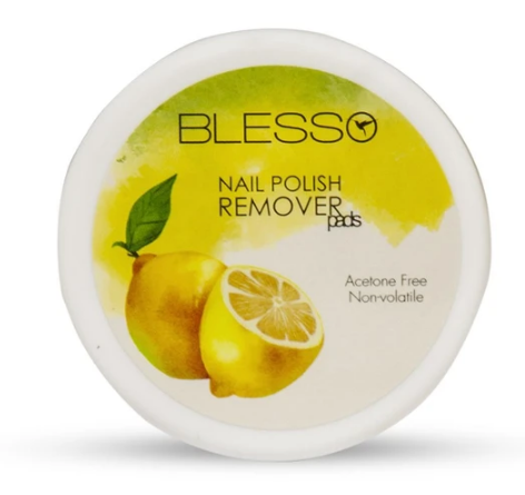Blesso Nail Polish Removing ( Lemon Pads )- Pack of 32 pads Buy online in Pakistan on Saloni.pk