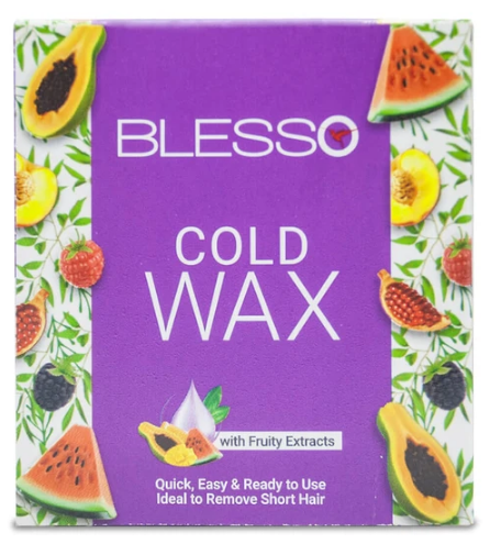 Blesso Cold Wax with Fruity Extract 125g Buy online in Pakistan on Saloni.pk