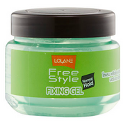 Lolane Freestyle Fixing Gel - Green Natural Hold 200g Buy online in Pakistan on Saloni.pk