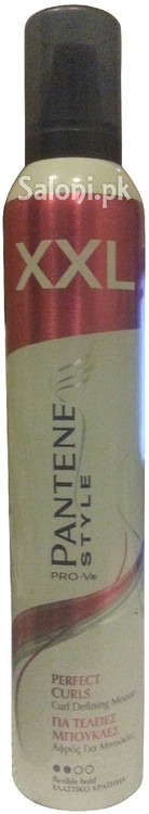 Pantene Pro-V Style Perfect Curls Curl Defining Mousse Front