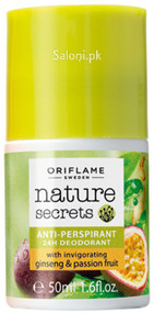 Oriflame Nature Secrets 24h Deodorant with Ginseng & Passion Fruit