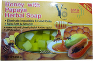 YC Honey with Papaya Herbal Soap Front