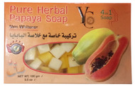 YC Pure Herbal Papaya Soap Front