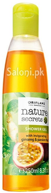Oriflame Nature Secrets Shower Gel With Invigorating Ginseng & Passion Fruit