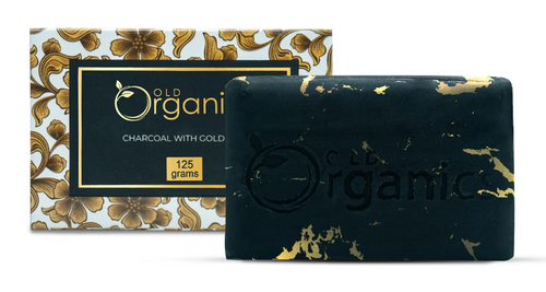 Old Organic Charcoal with Gold Bar Buy online in Pakistan on Saloni.pk