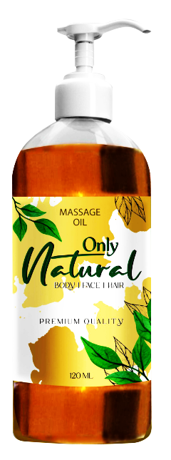 Only Natural Massage Oil 120ml Buy online in Pakistan on Saloni.pk