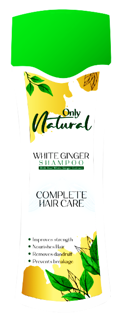 Only Natural White Ginger Shampoo 200ml Buy online in Pakistan on Saloni.pk