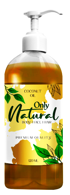 Only Natural Coconut Oil 120ml Buy online in Pakistan on Saloni.pk