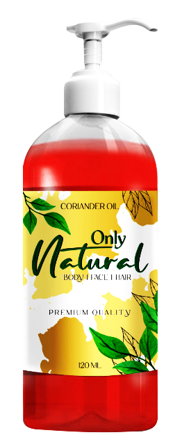 Only Natural Coriander Oil (Dhania Oil) 120ml Buy online in Pakistan on Saloni.pk