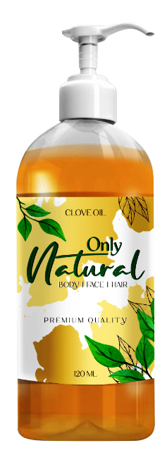 Only Natural Clove Oil (Laung Oil) 120ml Buy online in Pakistan on Saloni.pk