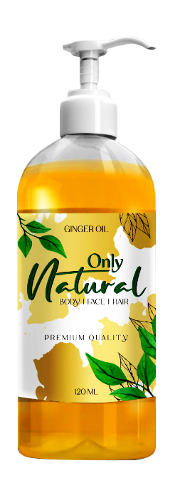 Only Natural Ginger Oil 120ml Buy online in Pakistan on Saloni.pk