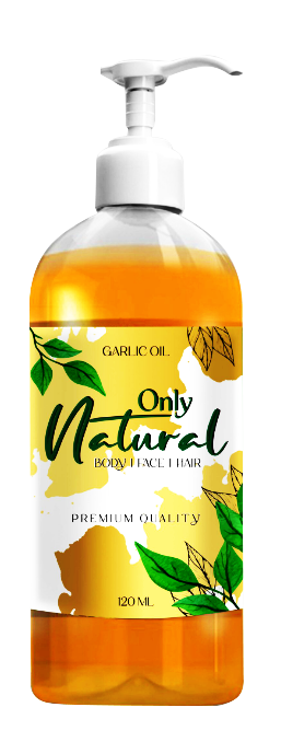 Only Natural Garlic Oil 120ml Buy online in Pakistan on Saloni.pk