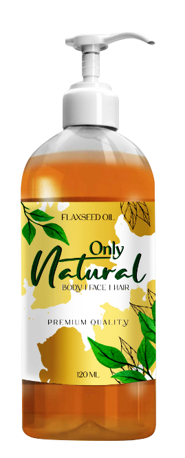 Only Natural Flax Seeds Oil (Alsi Oil) 250ml Buy online in Pakistan on Saloni.pk
