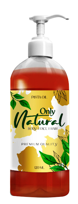 Only Natural Pistachio Oil 120ml Buy online in Pakistan on Saloni.pk