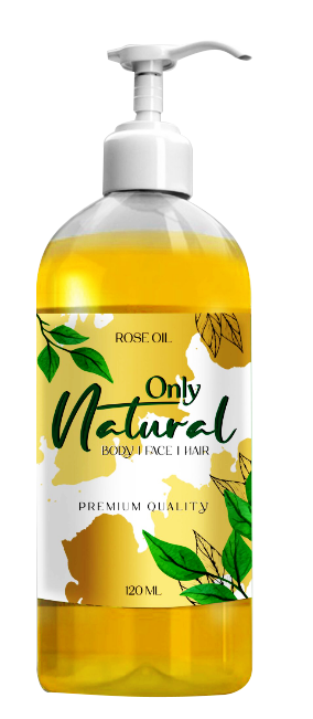 Only Natural Rose Oil 120ml Buy online in Pakistan on Saloni.pk