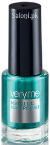 Oriflame Very Me Metallic Nail Polish Aqua Green