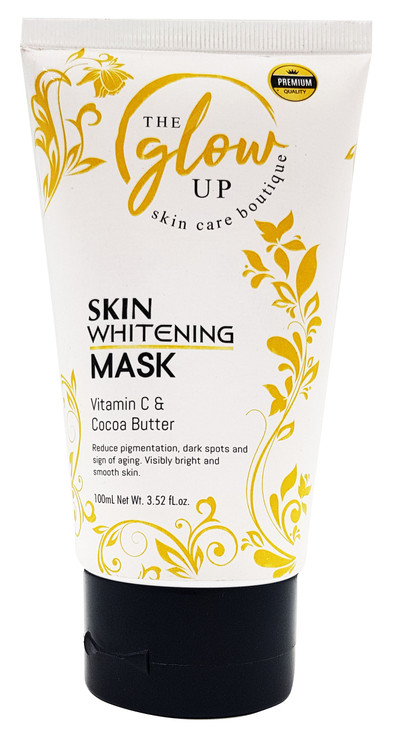The Glow Up Skin Whitening Mask, Vitamin C & Cocoa Butter 100ml Buy online in Pakistan on Saloni.pk