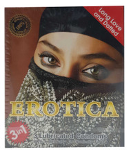 Erotica 3 in 1 Long Love & Dotted Lubricant 3 Condoms Buy online in Pakistan on Saloni.pk