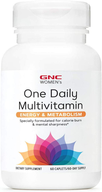 GNC Women's One Daily Multivitamin Energy and Metabolism - 60 Caplets Buy online in Pakistan on Saloni.pk