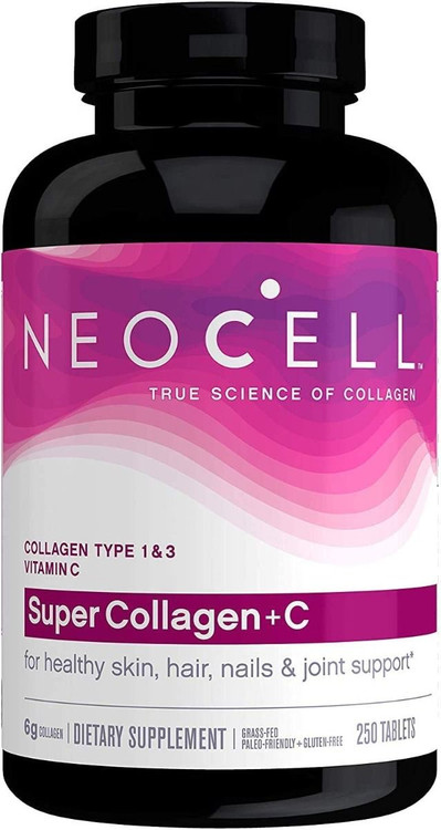 NeoCell Super Collagen + C for ( Healthy skin + Hair + Nail & Joints Support ) - 250 Tablets Buy online in Pakistan on Saloni.pk