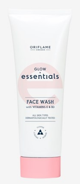 Oriflame Glow Essentials  Face Wash with Vitamins E & B3 - 125ml Buy online in Pakistan on Saloni.pk