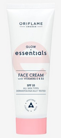 Oriflame Glow Essentials Face Cream with Vitamins E & B3 SPF 10 - 50ml Buy online in Pakistan on Saloni.pk