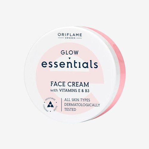 Oriflame Glow Essentials Face Cream with Vitamins E & B3 - 75ml Buy online in Pakistan on Saloni.pk