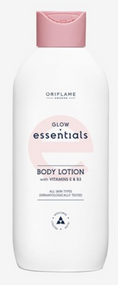 Oriflame Glow Essentials Body Lotion with Vitamins E & B3 200ml Buy online in Pakistan on Saloni.pk
