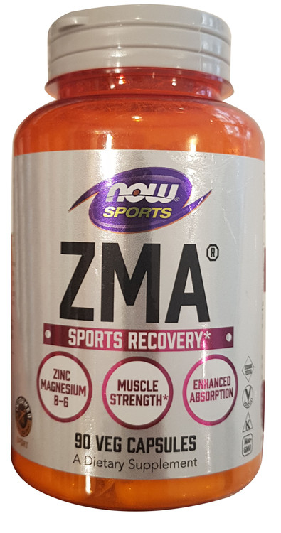 Now Foods ZMA Sports Recovery - 90 Veg Capsules Buy online in Pakistan on Saloni.pk