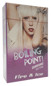 Boiling Point Condoms Dotted Fire & Ice - 12 Condoms Buy online in Pakistan on Saloni.pk