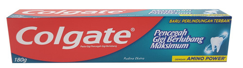Colgate Maximum Cavity Protection Toothpaste 180g ( Fresh Cool Mint ) Buy online in Pakistan on Saloni.pk