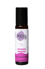 100% Wellness Grouch Buster Essential Oil Roll-on Blend - 10ml Buy online in Pakistan on Saloni.pk