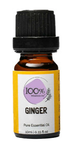 100% Wellness Ginger Pure Essential Oil - 10ml Buy online in Pakistan on Saloni.pk