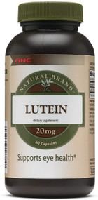 GNC Natural Brand Lutein 20mg - 60 Softgels Buy online in Pakistan on Saloni.pk