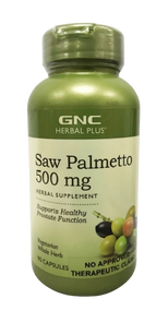 GNC Herbal Plus Saw Palmetto Extract 500mg - 90 Capsules Buy online in Pakistan on Saloni.pk