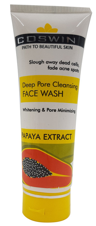 Coswin Deep Pore Cleansing Face Wash with Papaya Extract 100ml Buy online in Pakistan on Saloni.pk