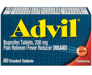 Advil Pain Reliever and Fever Reducer Coated Tablets, 200 Mg Ibuprofen, 50 Tablets Buy online in Pakistan on Saloni.pk
