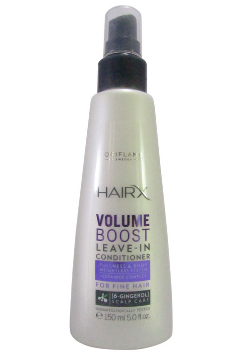 HairX Volume Boost Leave in Conditioner (Front)